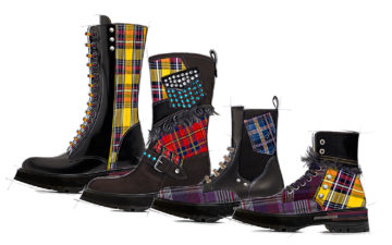 All Boot 04 Trend Rustic Tartan Fashion Woman