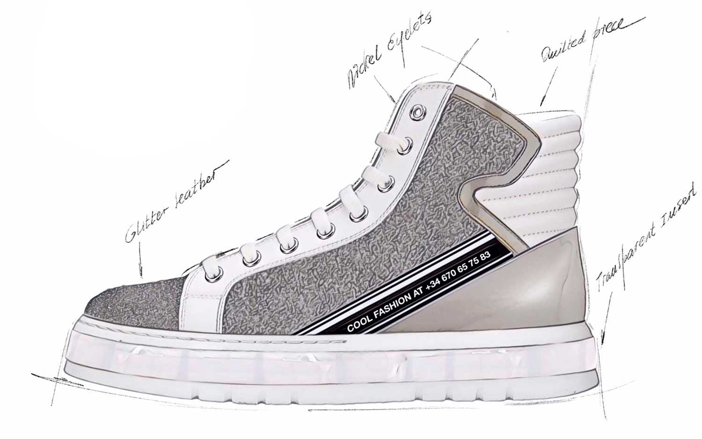 2020 Sneaker Trends.Footwear Trend For Women Transparency Fall Winter 2019 2020