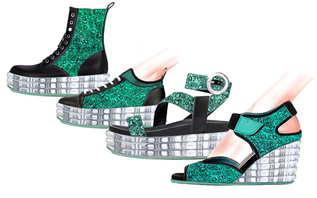 Women shoes trend ss20 float mint