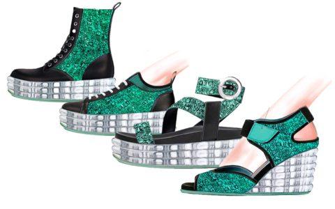 Women shoes trend ss20 float mint