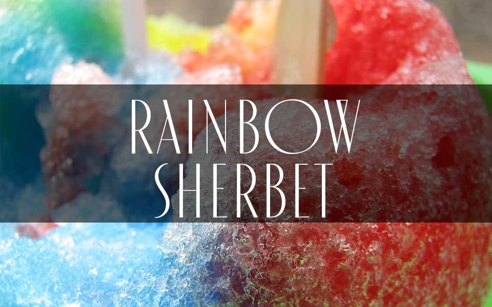 Footwear Trend SS20 Rainbow Sherbet