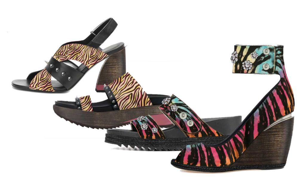 Sandals Trends Woman SS20 Rainbow Fierce