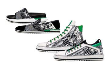 Designs Footwear Trends Men SS20 GrunGalactict -Wrinkled Metallic Silver