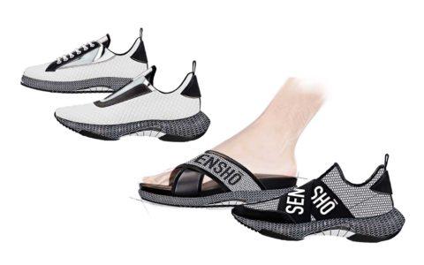 Footwear Trends Man SS20 Mesh Effect