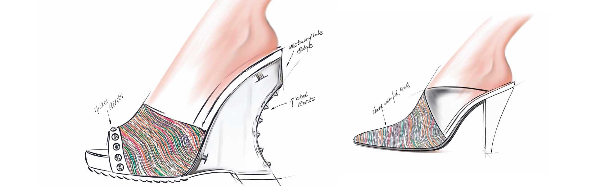 Sketchs footwear trends women SS20 Wavyful