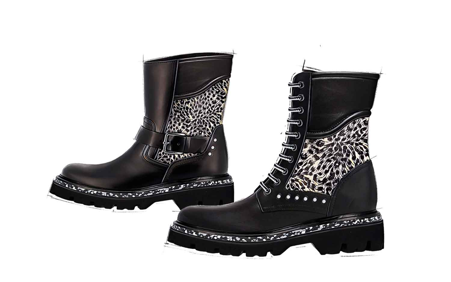 Women's Shoes Collection Trend Lynx Hairy FW20