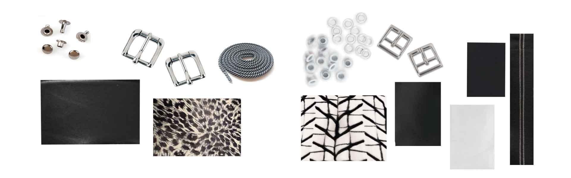 Footwear Trend FW20 - Hairy Textures in Black & White - Footwear Designer - Materials & Trims