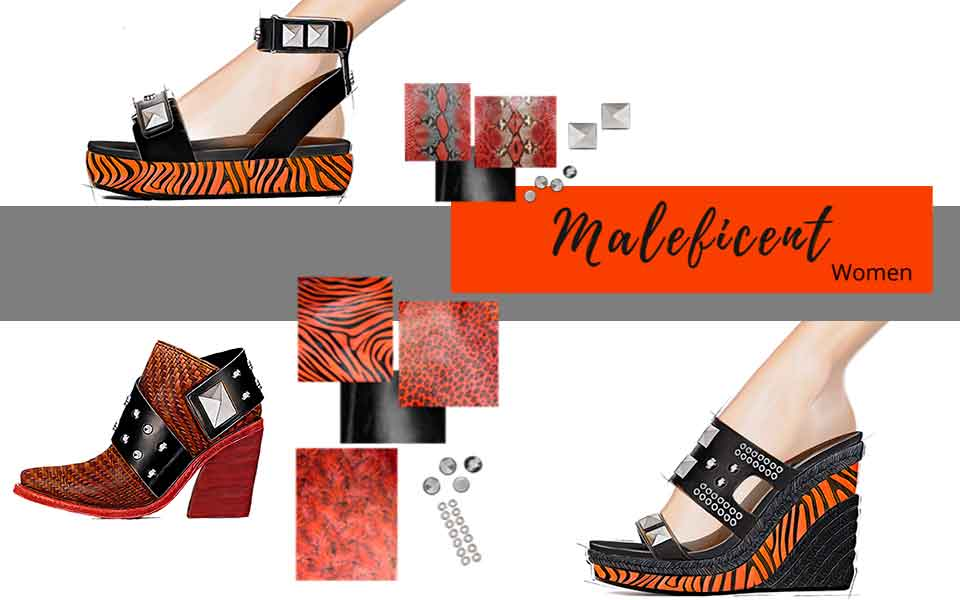 In advance SS21 Trend Shoes Women - Maleficent