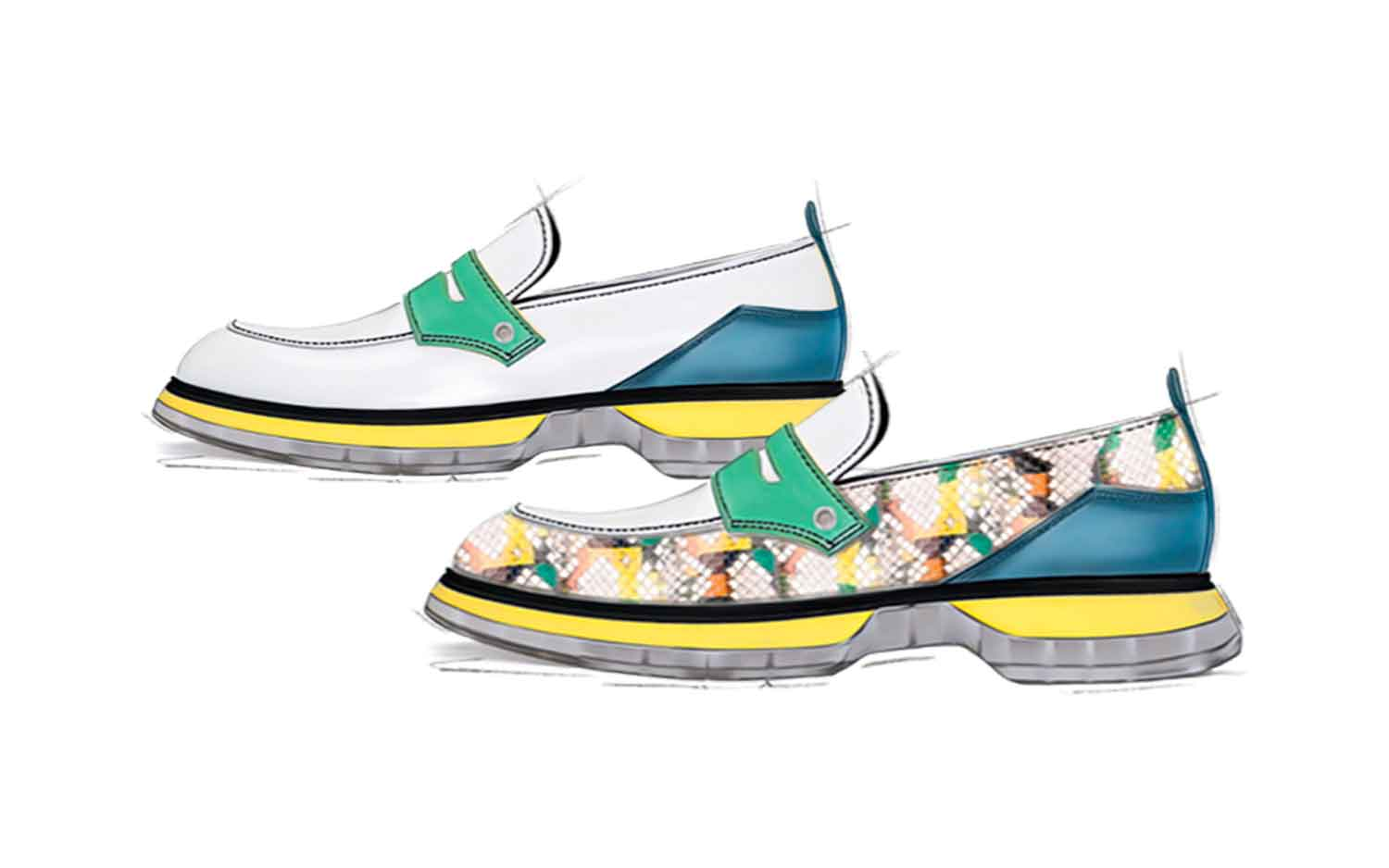 colorful-loafers-men-shoes-collection-colorful-snake-ss21