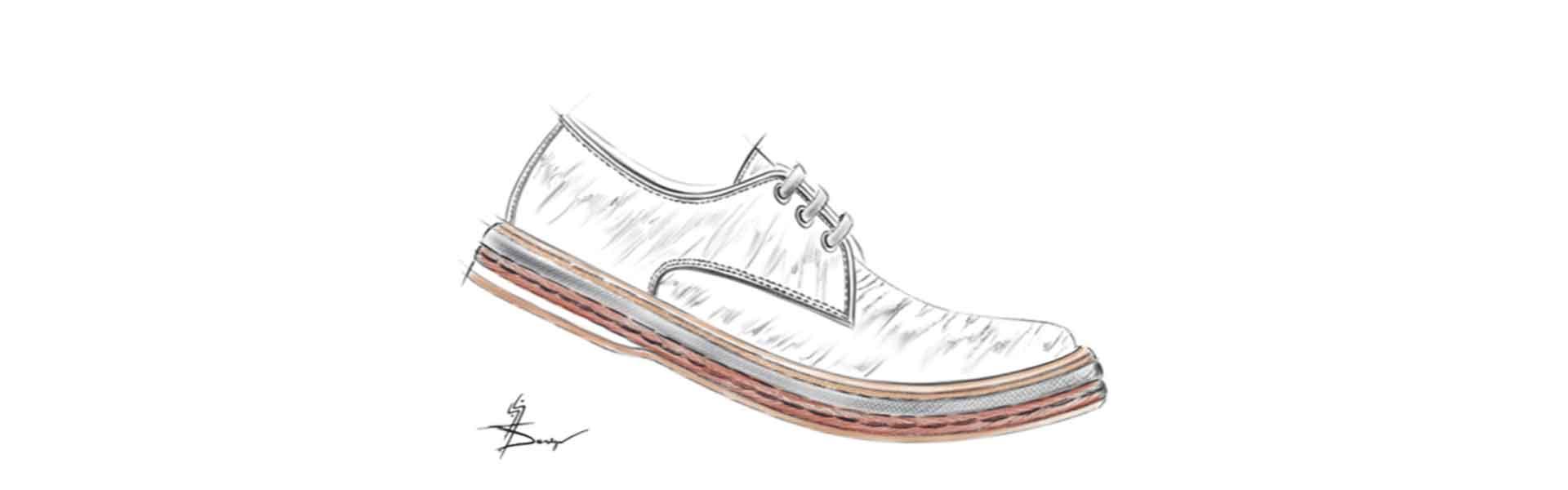 Footwear Trend SS21 Oxy Dye - Sketch