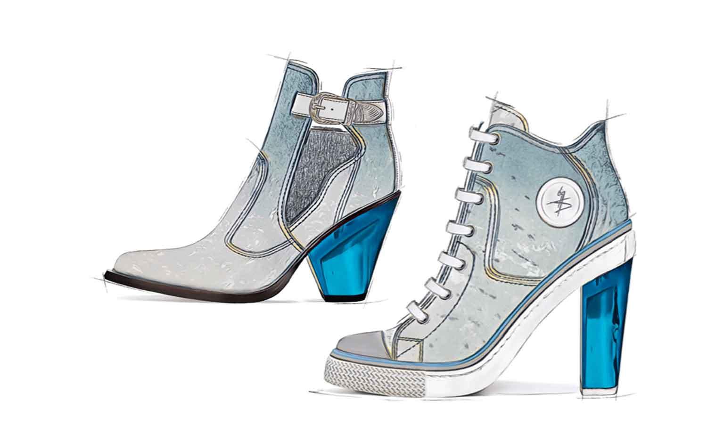 Boots -Shoe Collection SS21 - Aqua Zen
