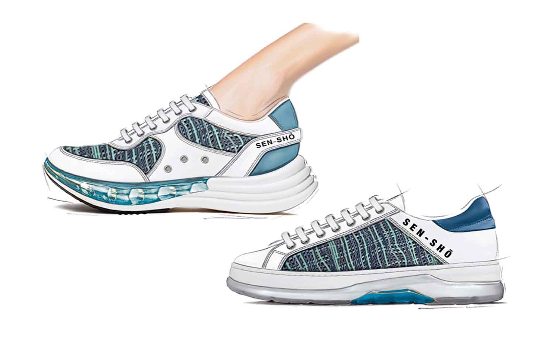 Sneakers -Shoe Collection SS21 - Aqua Zen